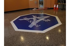 FC015 - Custom Floor Graphic for Education