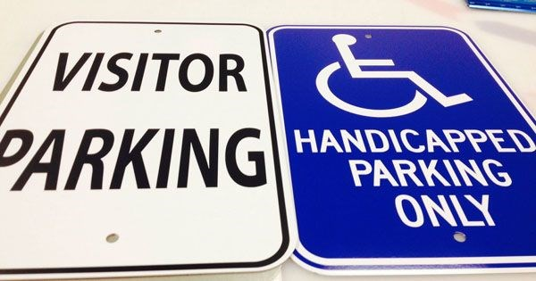 Parking Lot Signs