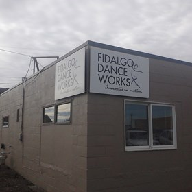 - Rigid Signage - Business Sign - Fidalgo Dance Works - Anacortes, WA
